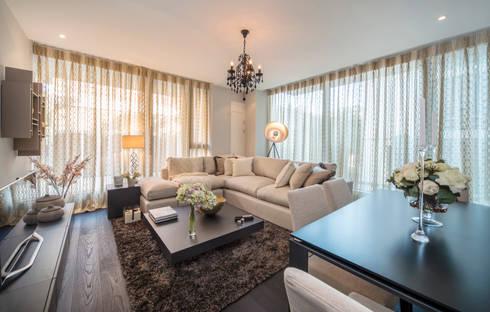 Living Room: modern Living room by STUDIO[01] LTD