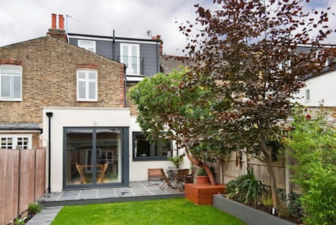 Modern Kitchen Extension : modern Kitchen by A1 Lofts and Extensions