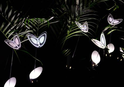 Avatar Garden: Giardino in stile in stile Eclettico di B+P architetti