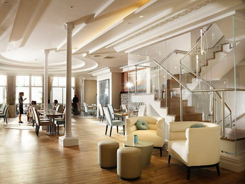 Sands Hotel:  Hotels by Inara Interiors