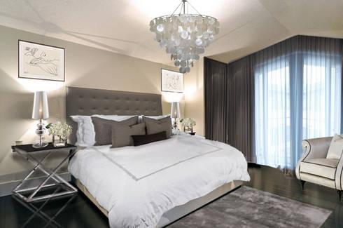 BEDROOMS: modern Bedroom by The Interior Design Studio