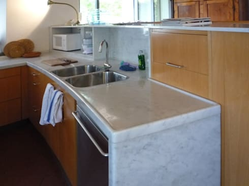cucina: Cucina in stile in stile Moderno di CHRISTIAN THEILL DESIGN