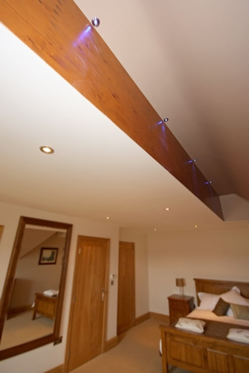 South Yorkshire Home Automation: country Bedroom by Inspire Audio Visual