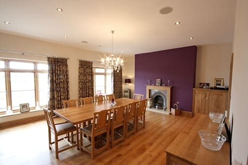 South Yorkshire Home Automation: country Dining room by Inspire Audio Visual