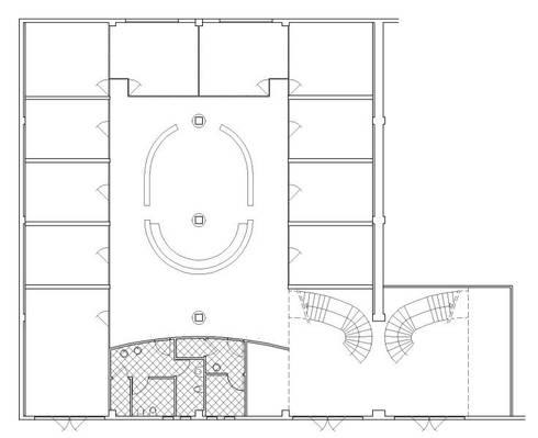 uffici e showroom: Complessi per uffici in stile  di CHRISTIAN THEILL DESIGN