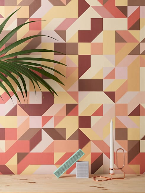 Geometric:  Walls & flooring by Form Us With Love