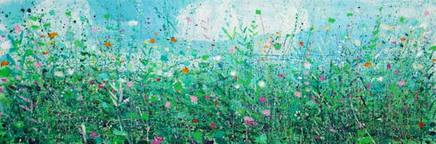 The Field Behind My House :  Artwork by Sandy Dooley Designs Limited