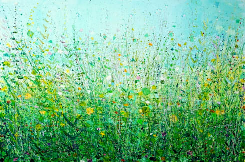 The Field Behind My House:  Artwork by Sandy Dooley Designs Limited