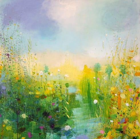 Summer Path:  Artwork by Sandy Dooley Designs Limited