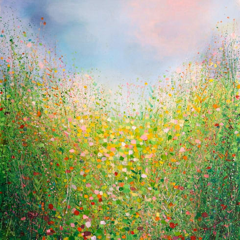 Warm May Afternoon:  Artwork by Sandy Dooley Designs Limited