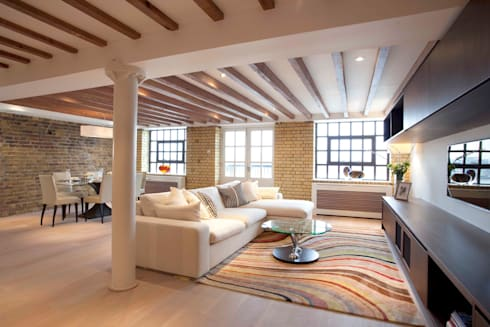 Chelsea SW3: Riverside Living: classic Houses by Increation