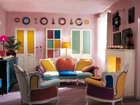 Salotto moderno: Soggiorno in stile in stile Eclettico di INTERNO78.IT - DECORAZIONI D'INTERNI