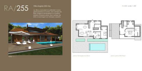 BioEdilizia - Lake Maggiore Home: Case in stile in stile Moderno di STUDIO RANDETTI - PROGETTAZIONE E DESIGN