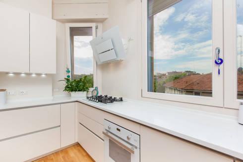 Completa ristrutturazione restyling in un edificio anni - Ristrutturazione cucina milano ...