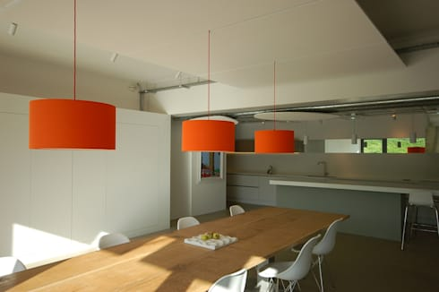 Underhill House PPS7: modern Dining room by Seymour-Smith Architects