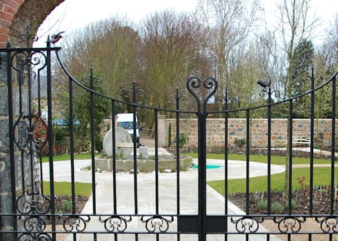 Guernsey Estate:   by Unique Iron Design Ltd.