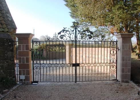 St George's Gates:   by Unique Iron Design Ltd.