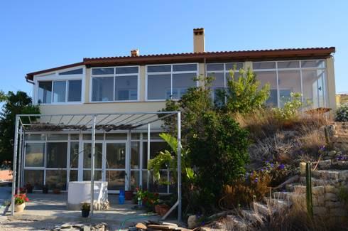 AHORRO DE AGUA. DEPURACIÓN DE AGUAS : Casas de estilo mediterráneo de VIVSA. VIVIENDA SANA