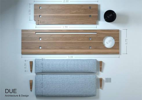 Medidas:  de estilo  de DUE Architecture & Design