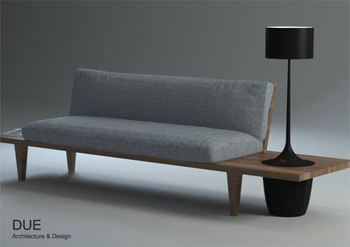 Opción 3 - Lampara de pie:  de estilo  de DUE Architecture & Design