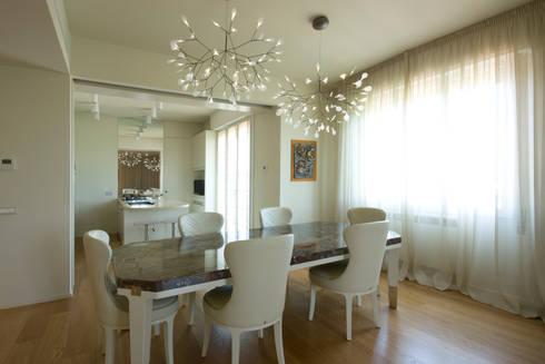 Sala da pranzo-cucina: Sala da pranzo in stile  di OPEN PROJECT