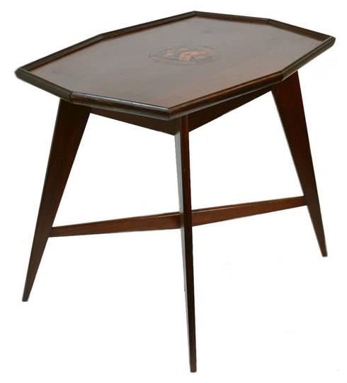 Decorative—Furnishings—Tables:  Living room by Lavish Shoestring