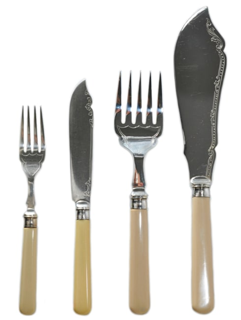 Dining—Cutlery: classic Dining room by Lavish Shoestring