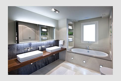 Lakes By Yoo 1:  Bathroom by Future Light Design