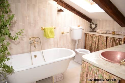 Sala di bagni PRIMA/ DOPO por decoratriceweb.com Interior Design 3D ...