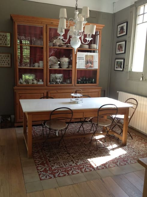 Cocina: Comedores de estilo mediterráneo de Anticuable.com
