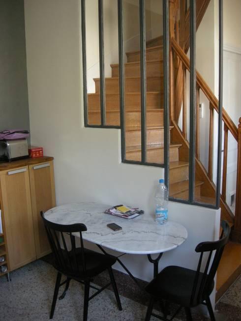 Aménagement et décoration d'une maison: Salle à manger de style  par Parisdinterieur