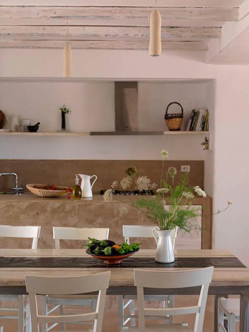 mediterrane Küche von 0-co2 architettura sostenibile