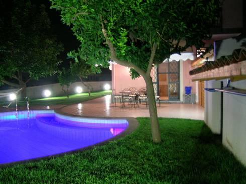 PROGETTO GIARDINO: Giardino in stile in stile Moderno di PECORAMELLOarchitetti