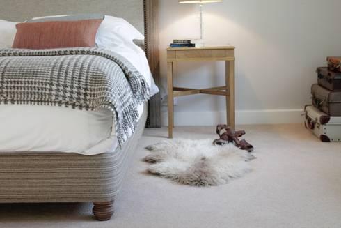 Bainbridge Luxury Upholstered Bed: modern Bedroom by TurnPost