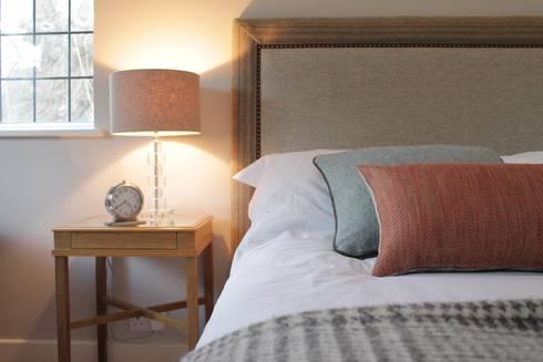 Bainbridge Luxury Upholstered Bed with designer details: modern Bedroom by TurnPost