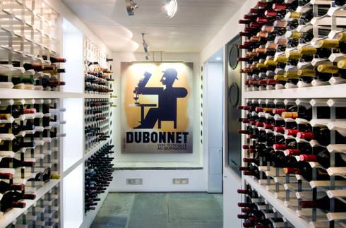Wine Cellar, Regents Park:   by Jeff Kahane + Associates