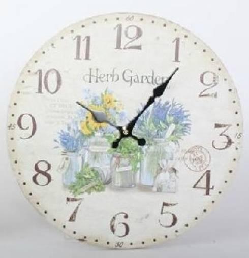 Relojes decorativos de pared: Hogar de estilo  de Birdikus