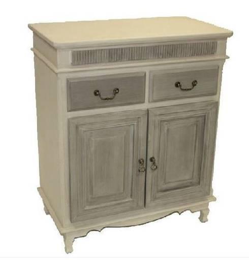 mueble auxiliar de estilo r stico rom ntico provenzal de