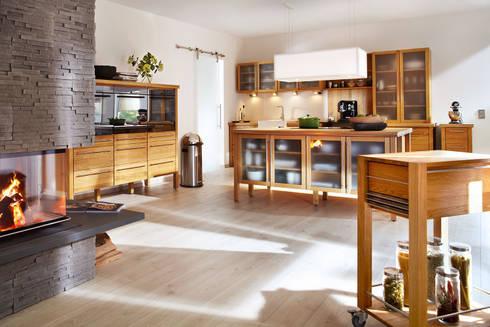 annex Gmbh & Co. KG: annex Landhaus Massivholzküche | homify | {Massivholzküche 10}