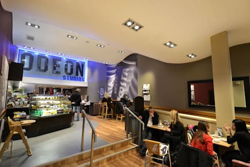 Odeon Cinemas:  Commercial Spaces by NRN Design
