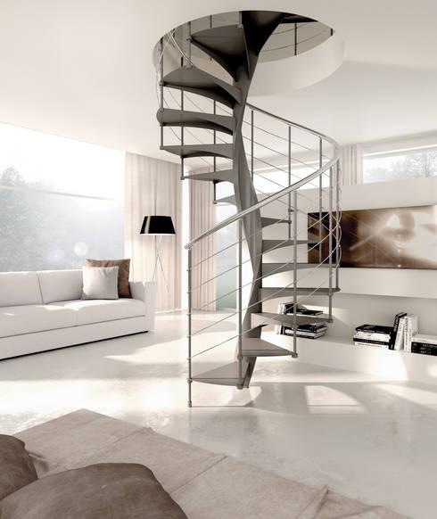 eclectic Corridor, hallway & stairs by Enesca