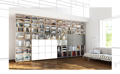 Regalsystem Bücher modulare bücherregale stocubo das modulare regalsystem homify