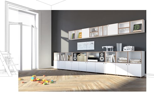 Modulare Regalsysteme sideboards by stocubo das modulare regalsystem homify
