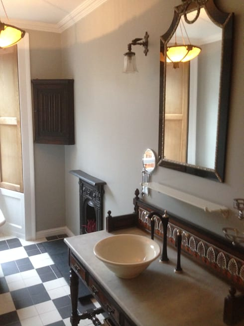 Great King Street: classic Bathroom by Serenity Bathrooms