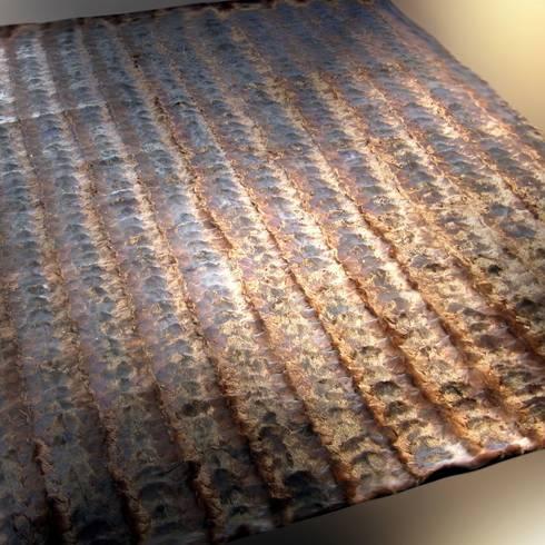 Alfombras de cuero y piel natural de miyabi casa homify for Alfombras de cuero