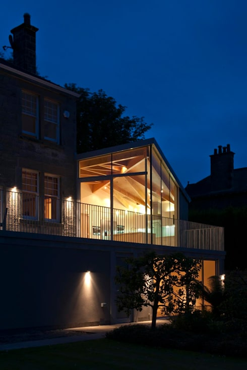 South Queensferry - extension: modern Houses by ZONE Architects