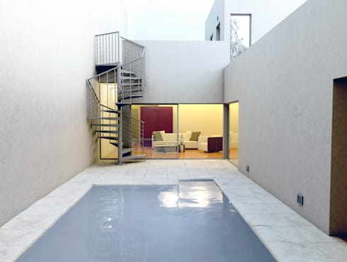 escalera para terrazas