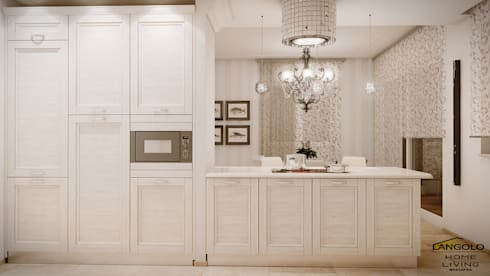 Cucina Classico Contemporaneo di LANGOLO HOME LIVING | homify