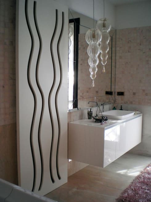 Bagno : Bagno in stile in stile Industriale di Studio MP