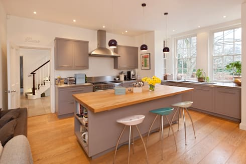Talbot Lodge: classic Kitchen by Riach Architects